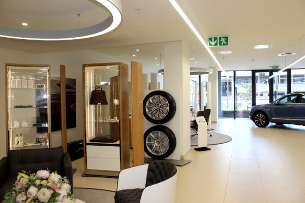 798.8m² - Premium retail / showroom space located in the state of the art Canal District Waterfront