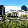 426.4m² – Premium retail / showroom Waterway House South, Canal District Waterfront